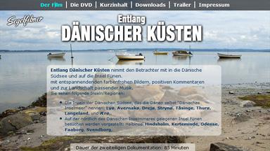 """Webseite """"Entlang Dänischer Küsten"""